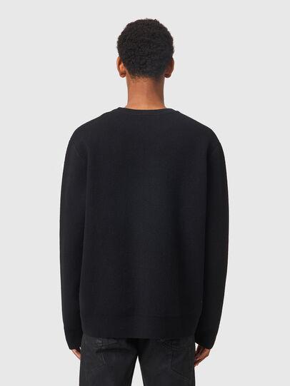 Diesel - K-NORFOLK, Black - Sweaters - Image 2
