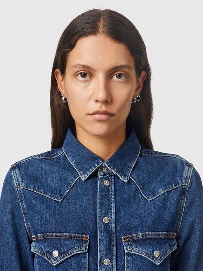 Diesel - DE-RINGY, Bleu Foncé - Chemises en Denim - Image 3