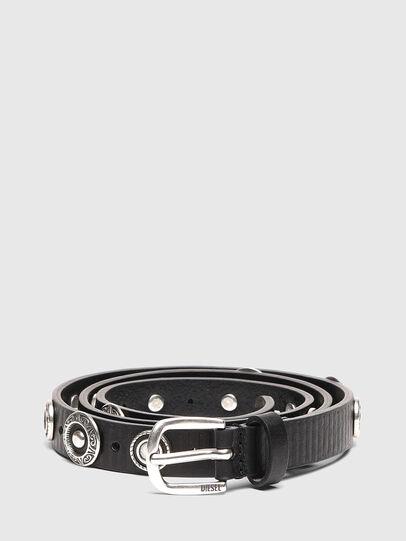Diesel - B-GAUCHO, Black - Belts - Image 1