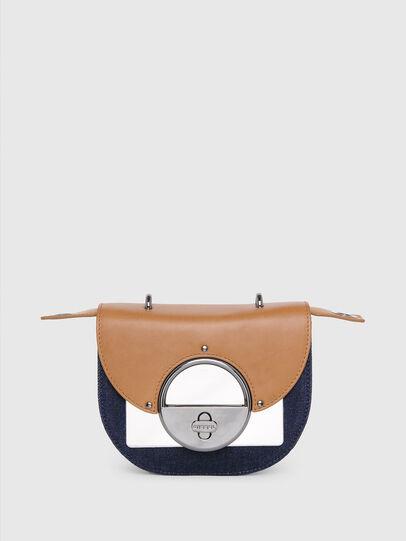 Diesel - DEBIE, Blue/Beige - Crossbody Bags - Image 1