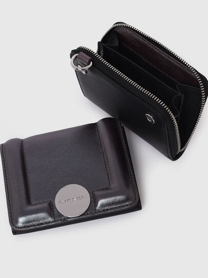 Diesel - LORY, Dark Grey - Small Wallets - Image 4