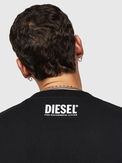 Diesel - S-BAY-B9, Noir - Pull Cotton - Image 3