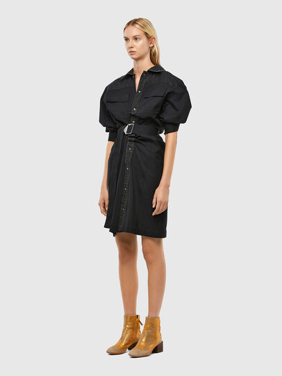 Diesel - D-CALYN, Noir - Robes - Image 5