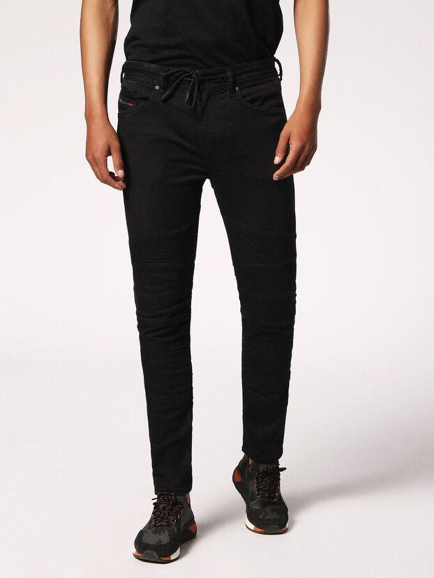 Bakari JoggJeans 0678E, Noir/Gris foncé - Jeans