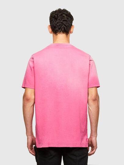 Diesel - T-JUBIND-SLITS-A1, Rose - T-Shirts - Image 2