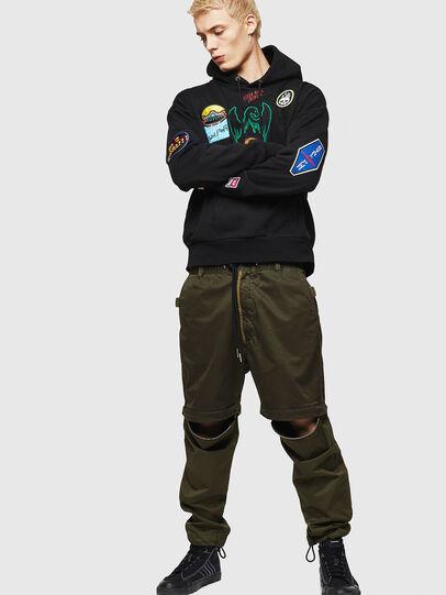Diesel - P-CASHORT, Vert Militaire - Pantalons - Image 6