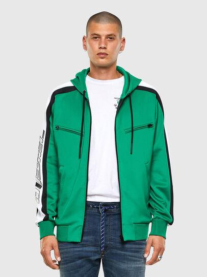 Diesel - S-STEEL, Green - Sweatshirts - Image 6