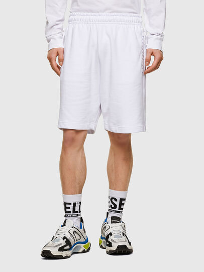 Diesel - P-HORTY, Blanc - Shorts - Image 1