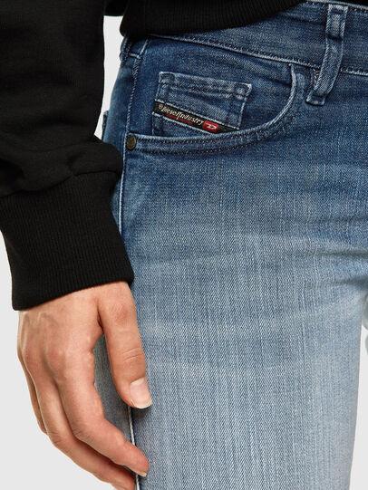 Diesel - Slandy Low 009CV, Bleu Clair - Jeans - Image 3