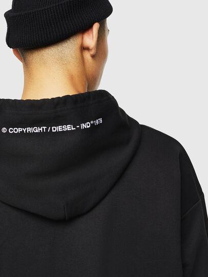 Diesel - S-ALBY-COPY-J1, Black - Sweatshirts - Image 5