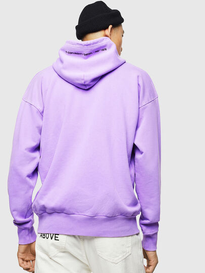 Diesel - S-ALBY-FLUO, Lilas - Pull Cotton - Image 3