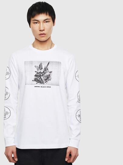 Diesel - T-GRANITE, Blanc - T-Shirts - Image 1