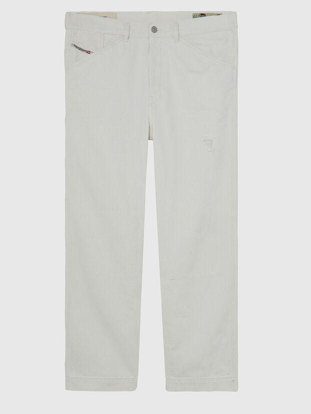 D-Franky 009BZ, Blanc - Jeans