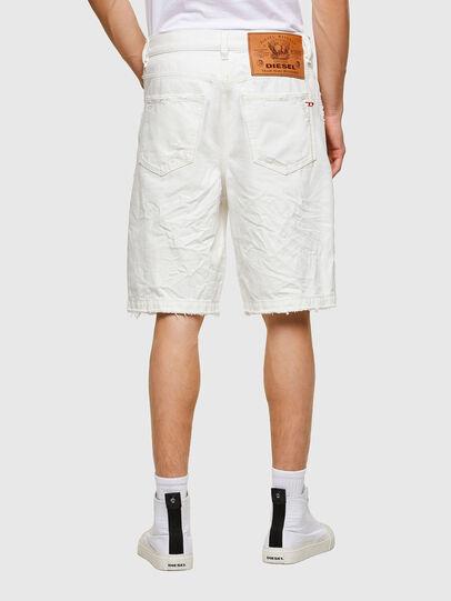 Diesel - D-MACS-SHORT, Blanc - Shorts - Image 2