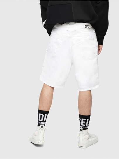 Diesel - D-WILLOH, Blanc - Shorts - Image 2