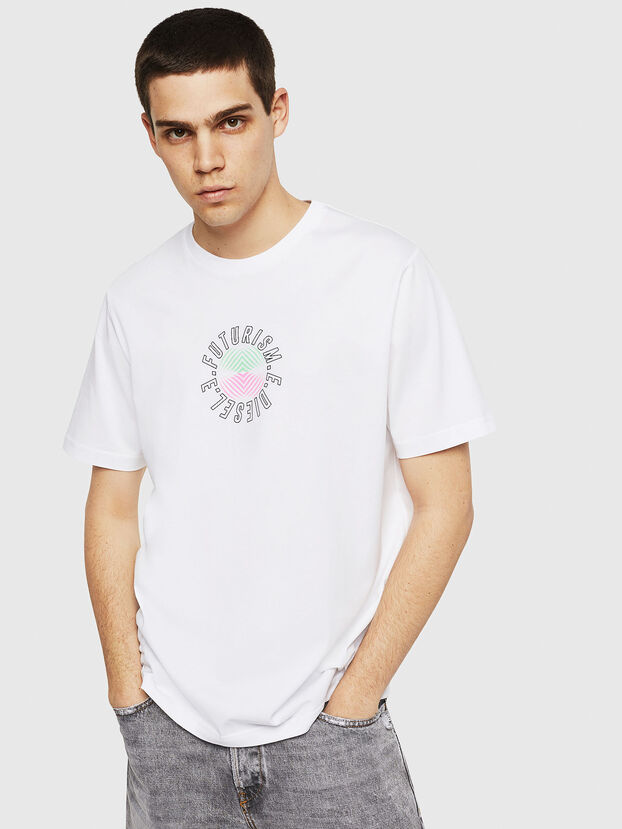 T-JUST-Y19, White - T-Shirts