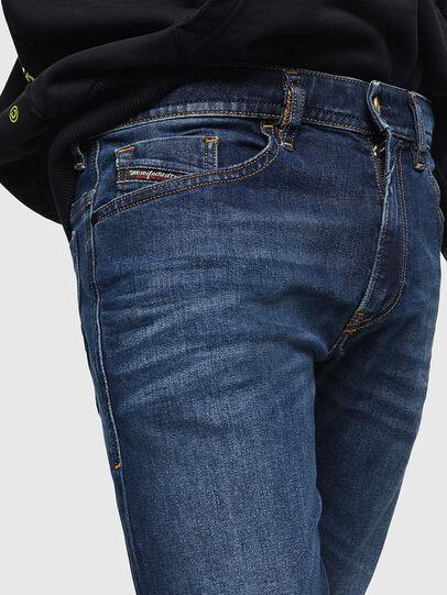 Diesel - Thommer 0096B, Bleu Foncé - Jeans - Image 3