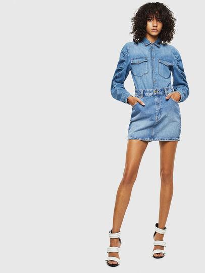 Diesel - DE-RINGY-R, Bleu Clair - Chemises en Denim - Image 6