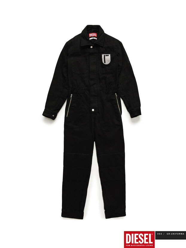 GR02-U301, Black - Jumpsuits