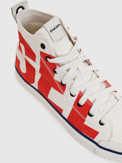 Diesel - S-ASTICO MC, Blanc/Rouge - Baskets - Image 4