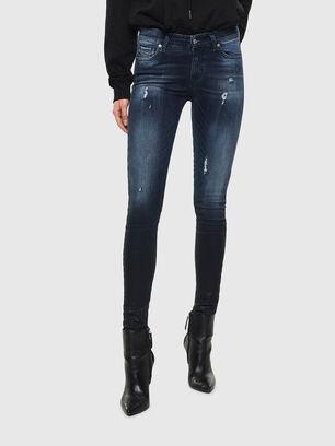 Slandy 0096K, Bleu Foncé - Jeans