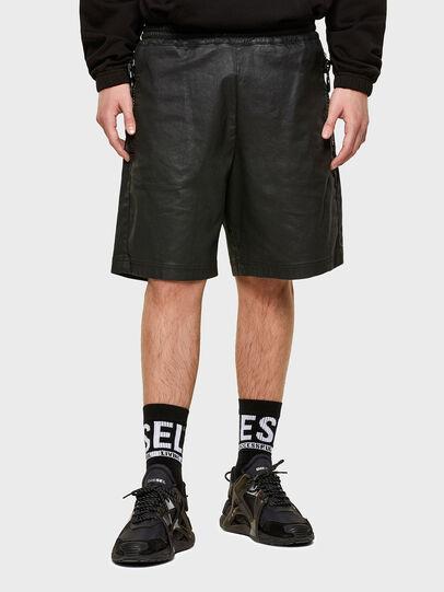 Diesel - D-HORTY-SP JOGGJEANS, Noir - Shorts - Image 1