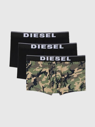 Diesel - UMBX-DAMIENTHREEPACK, Noir/Vert - Boxeurs courts - Image 1