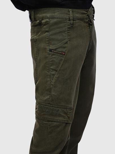 Diesel - D-Krett JoggJeans 069LX, Vert Militaire - Jeans - Image 5