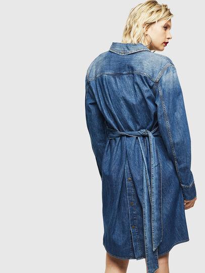Diesel - DE-BLEU, Bleu moyen - Robes - Image 2