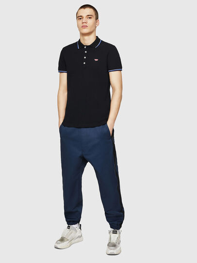 Diesel - T-RANDY-NEW, Blue - Polos - Image 5