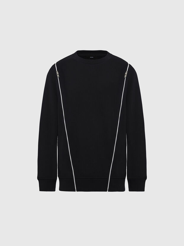 F-GEORGIA, Noir - Pull Cotton