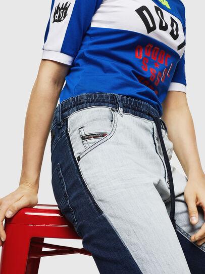 Diesel - Krailey JoggJeans 0870R, Bleu moyen - Jeans - Image 3