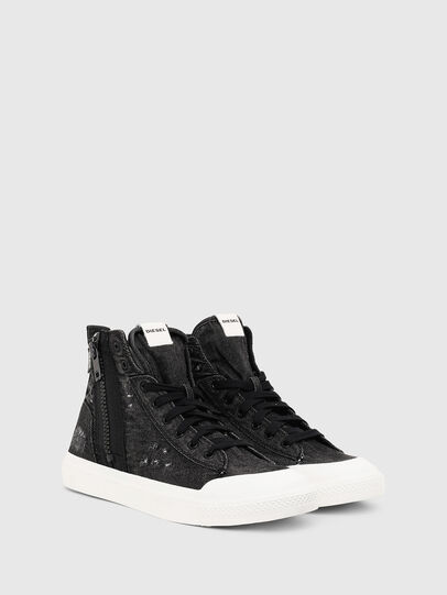 Diesel - S-ASTICO MID ZIP, Black - Sneakers - Image 2