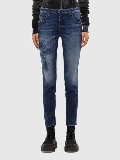 Diesel - Babhila 009JM, Bleu Foncé - Jeans - Image 1