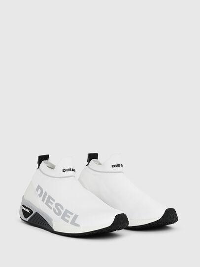 Diesel - S-KB ATHL SOCK II W, Blanc - Baskets - Image 2