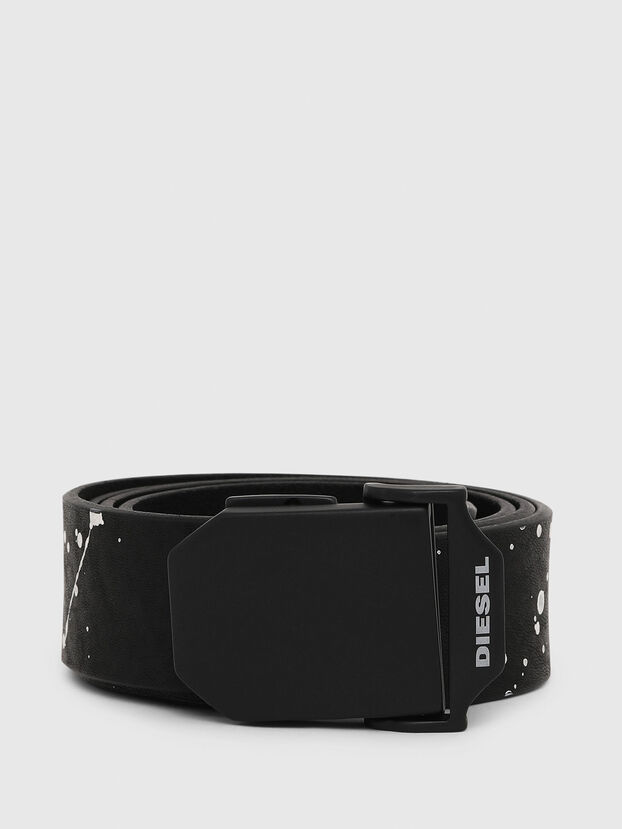 B-POL, Black/White - Belts