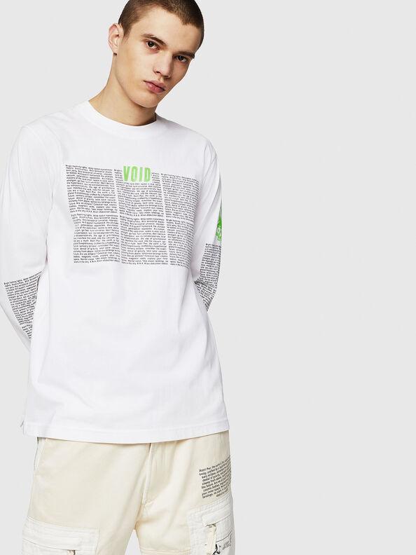 T-JUST-LS-NEW,  - T-Shirts