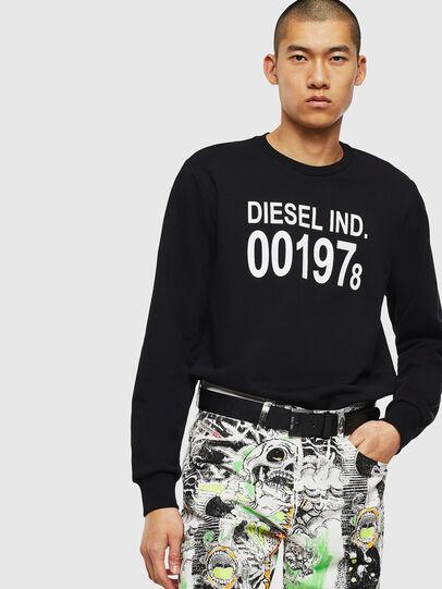 Diesel - S-GIRK-J3, Black - Sweatshirts - Image 3