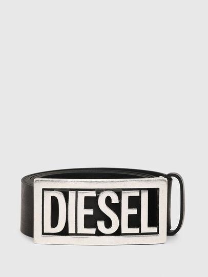 Diesel - B-OGO, Noir - Ceintures - Image 1
