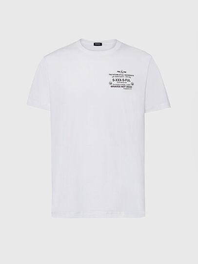Diesel - T-DIEGOS-X44, Blanc - T-Shirts - Image 1