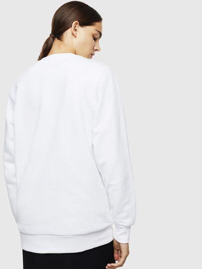 Diesel - S-GIR-DIVISION-LOGO, White - Sweatshirts - Image 4