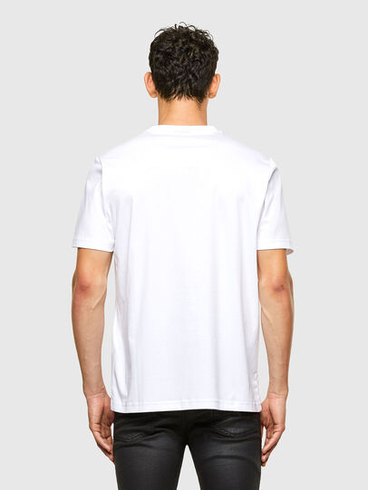 Diesel - T-JUST-A31, Blanc - T-Shirts - Image 2