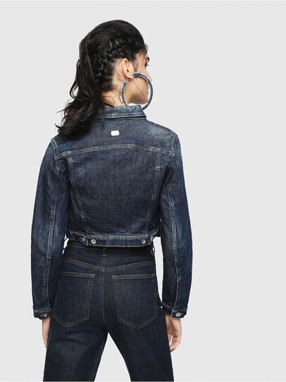 Diesel - DE-BLONDY, Bleu Foncé - Vestes en denim - Image 2