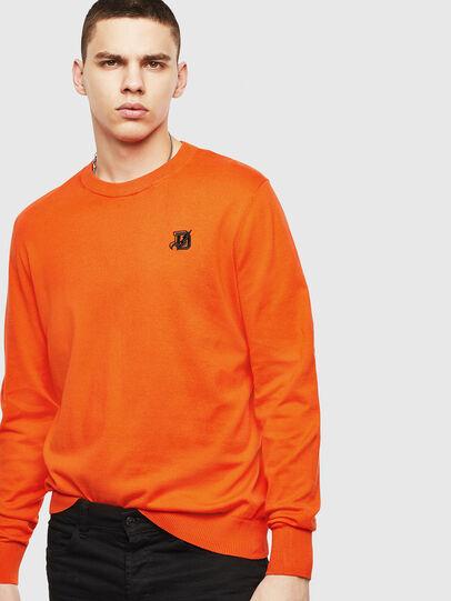 Diesel - K-FREEX, Orange - Sweaters - Image 4