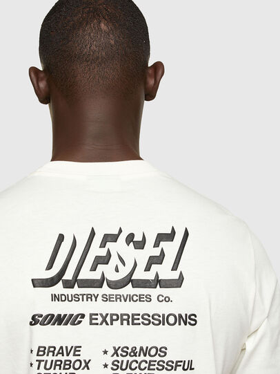 Diesel - T-JUST-A33, Blanc - T-Shirts - Image 4