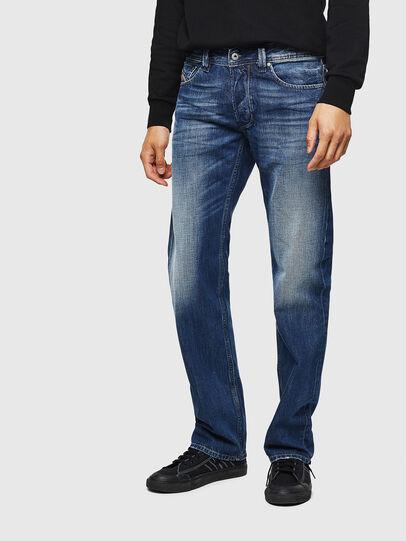 Diesel - Larkee 008XR, Bleu Foncé - Jeans - Image 1