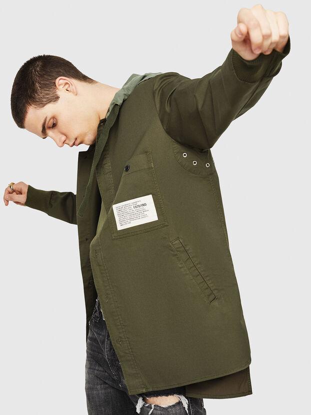 S-EIKU, Military Green - Shirts