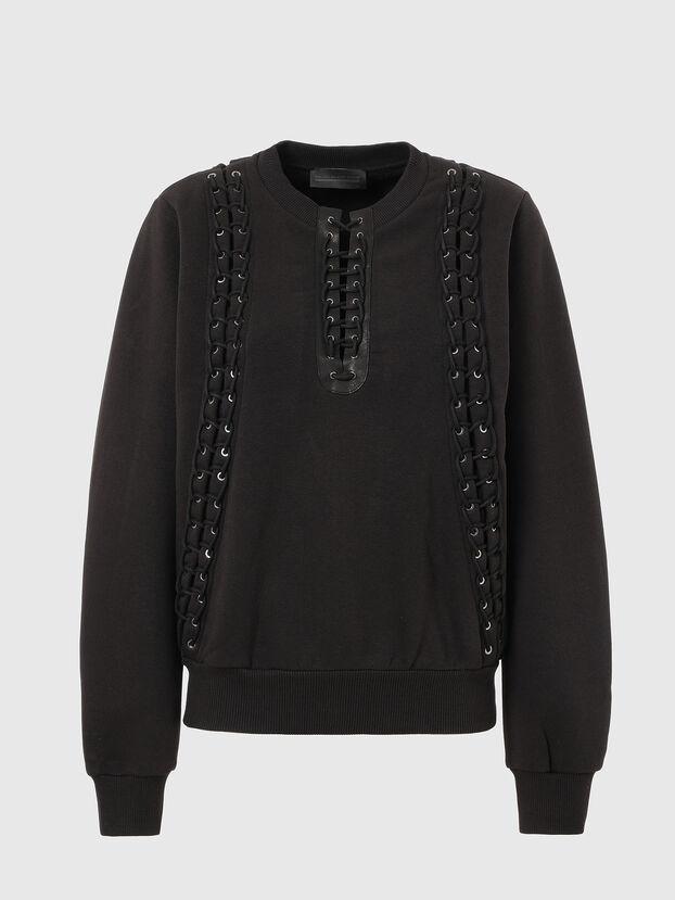 F-ANAIT, Noir - Pull Cotton