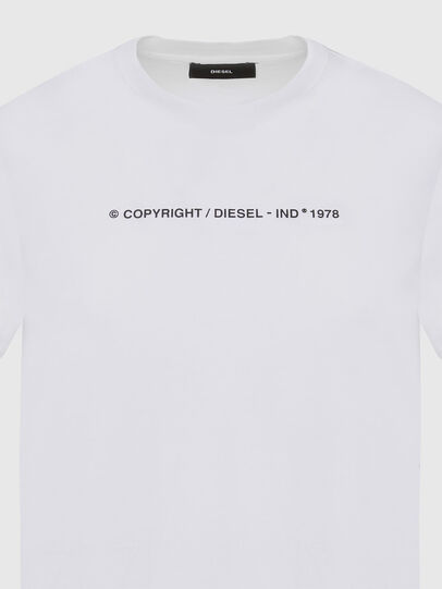 Diesel - T-SILY-COPY, Blanc - T-Shirts - Image 3