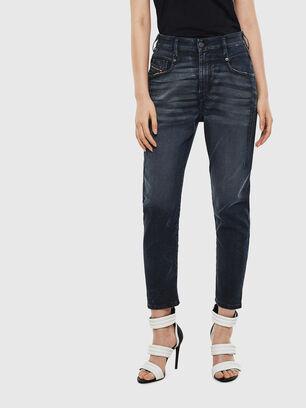 Fayza JoggJeans 069MD, Bleu Foncé - Jeans